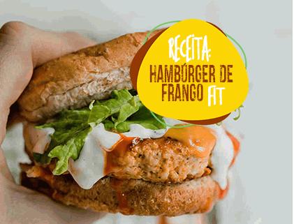 HAMBÚRGER DE FRANGO FIT
