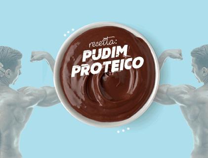 PUDIM PROTEICO