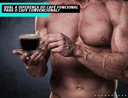 Qual a diferença do café funcional para o café convencional?