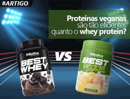 As proteínas veganas são tão eficientes quanto o Whey protein?