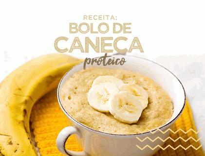 BOLO DE CANECA PROTEICO