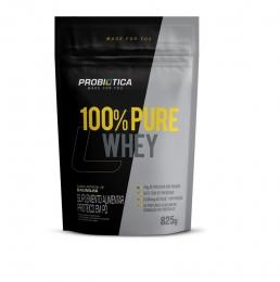 100% Pure Whey Refil 825G - Probiótica Baunilha