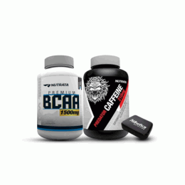 BCAA 1,5g (120 caps) + Predator Caffeine (60 caps)